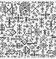futhark norse islandic and viking symbol seamless vector image