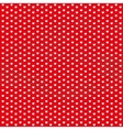 Red vintage seamless pattern from white hearts vector image vector image