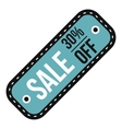 Sale tag icon flat style vector image