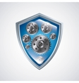 Shield icon Security design graphic vector image