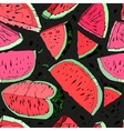 Watermelon hand drawn vector image vector image