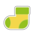 child sock icon image vector image vector image