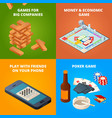 concept of board games checkers chess and other vector image vector image
