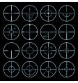 Cross hairs set vector | Price: 1 Credit (USD $1)