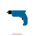 hand drill it is icon vector image vector image