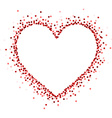 Valentines love card vector image vector image