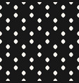 black and white dots seamless simple pattern vector image vector image