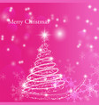 christmas and happy new year background for design vector image vector image
