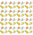 colorful summer seamless pattern with tropical vector image