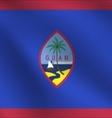 Guam flag vector image vector image