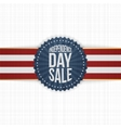 Independence Day Sale modern graphic Label vector image vector image