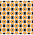 orange black and white seamless abstract vector image vector image