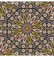 Ornamental round geometric native style pattern vector image vector image