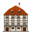 traditional cottage vector image