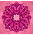 Oriental traditional ornament vector image