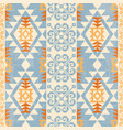 absract ethnic pattern vector image vector image