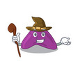 adrenal funny but sneaky witch cartoon character