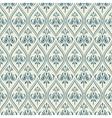 Damascus pattern Seamless vintage background vector image vector image