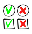 does and dont markers signs vector image
