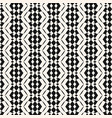 geometric seamless monochrome lace texture vector image vector image