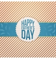 Paper Graphic Element for Fathers Day vector image vector image