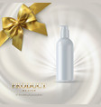 Cosmetics product ads poster template