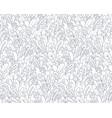 fantasy plants pattern vector image vector image