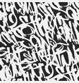 graffiti grunge tags seamless pattern print vector image
