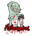 Halloween blood party vector image vector image