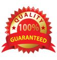 quality guaranteed vector image