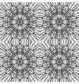 a pattern of black smooth lines vector image