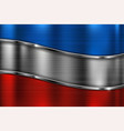 colored metal background 3d shiny stripes vector image