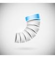 Creative 3D icon vector image