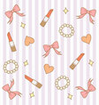 cute pink pastel girly background 3 vector image vector image