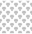 diamonds minimal seamless pattern or vector image vector image