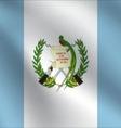 Guatemala flag vector image vector image