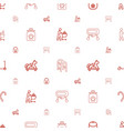kids icons pattern seamless white background vector image vector image