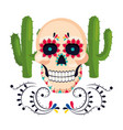 mexican culture mexico cartoon vector image vector image