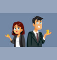 pay gap gender wage difference concept vector image