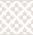 subtle abstract white pattern in asian style vector image vector image
