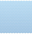 blue seamless wavy line pattern ocean stylish vector image vector image