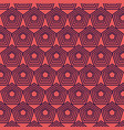 colorful geometric seamless pattern design vector image