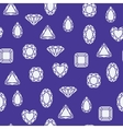 Diamonds pattern vector image vector image