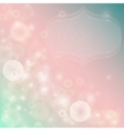 Gentle abstract background with bokeh effect vector image