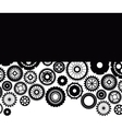 Isolated gears design vector image vector image