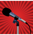 microphone cord vector image