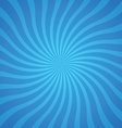popular blue color twist rotate ray background vector image
