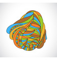 Abstract drawing vector image