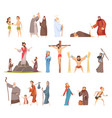 bible characters historical antique holy people vector image