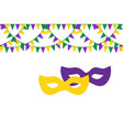 festive background for carnival festival vector image vector image